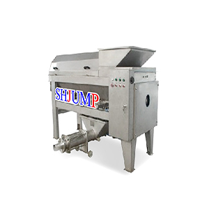 High speed stem removing machine